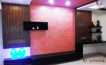 pink tv-home officen